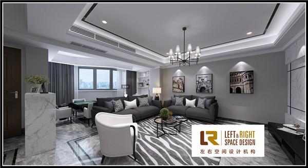 香江丽苑现代风格案例